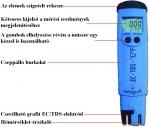 HANNA HI98311-12 EC/TDS/Hőmérséklet mérő
